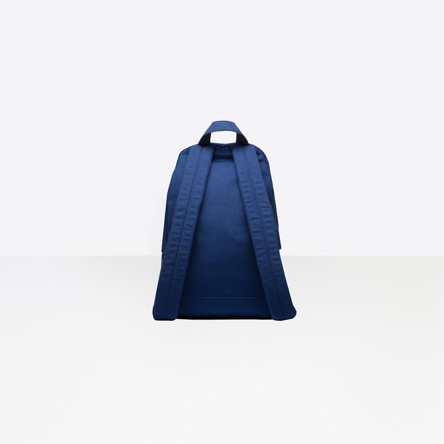 BALENCIAGA Explorer Backpack Cotton Explorer Bags Man d