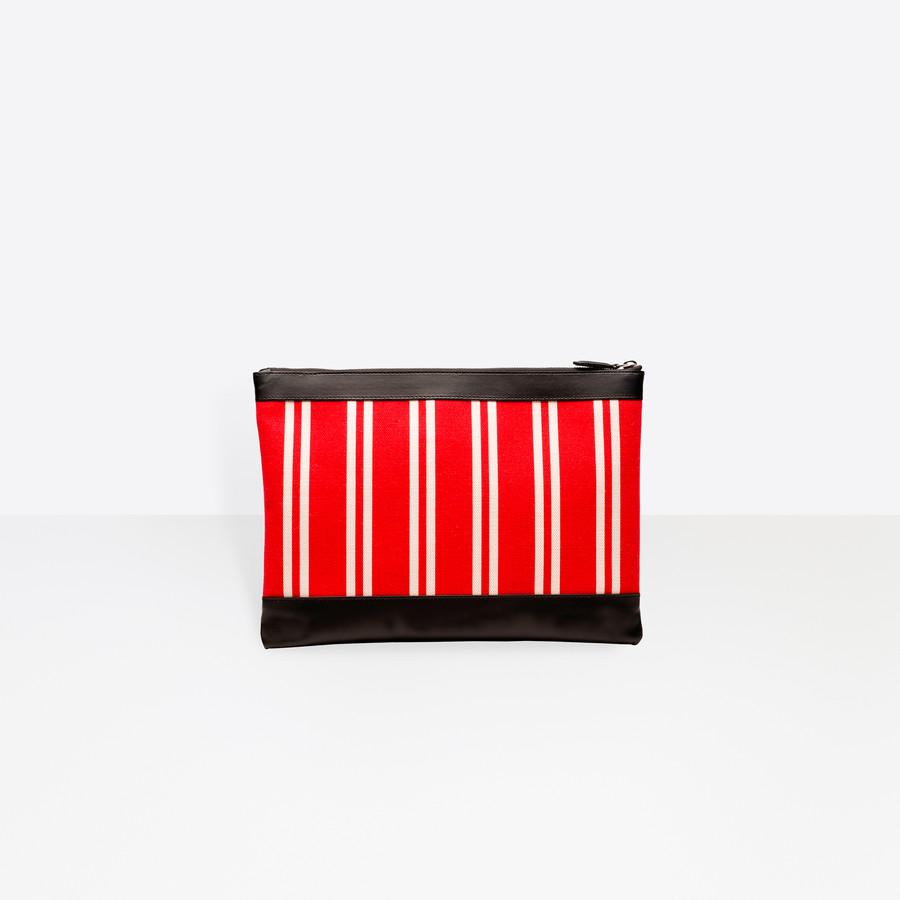 BALENCIAGA Navy Clip M Navy Handbag D d