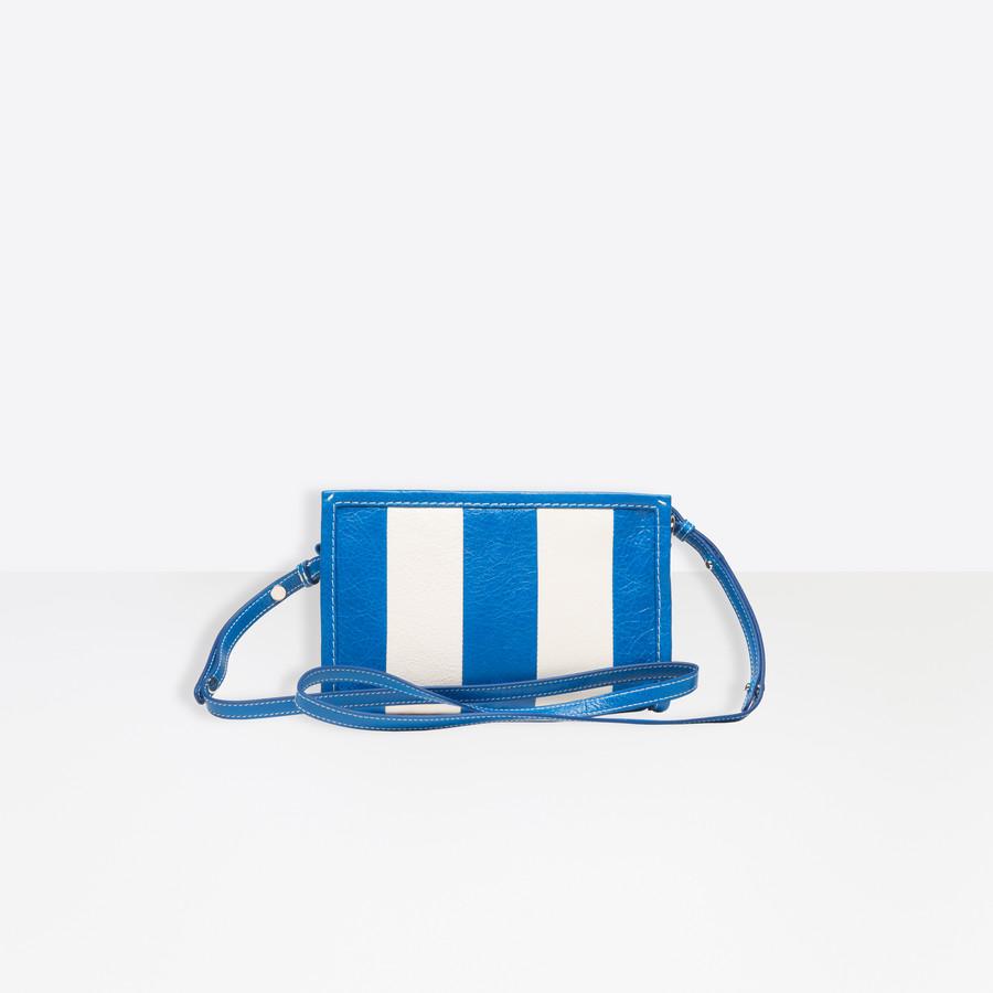 BALENCIAGA Bazar Strap Clutch Bazar handbags Woman d