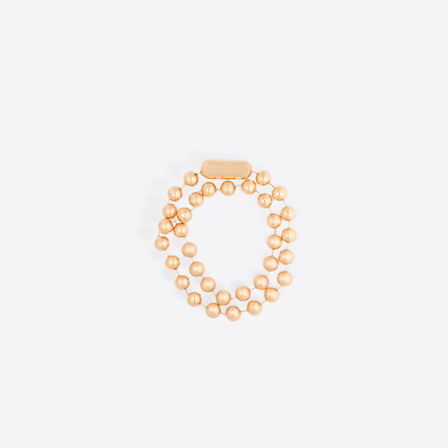 BALENCIAGA メタル パール ダブルネックレス Pearl Jewelry D f
