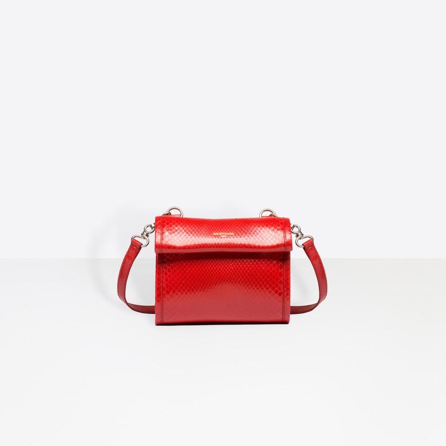 BALENCIAGA Tools Python Satchel XS Tools Handbags D f