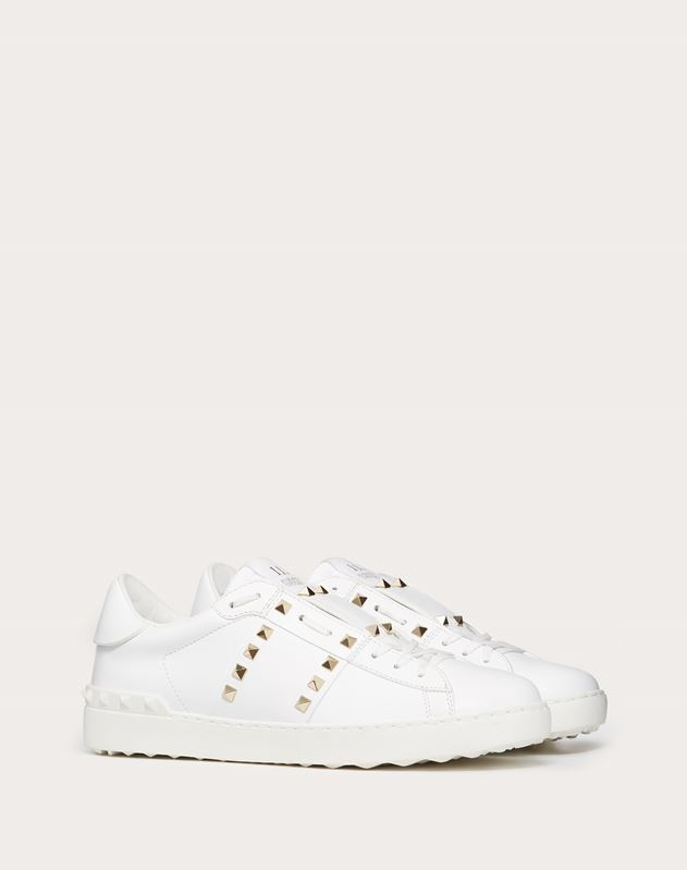 SNEAKER ROCKSTUD UNTITLED IN VITELLO