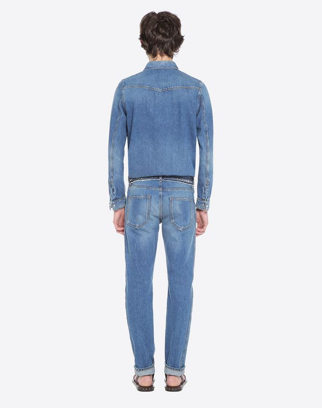 CHINO EN DENIM ROCKSTUD UNTITLED
