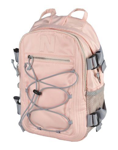 NICOPANDA レディース バックパック&ヒップバッグ ライトピンク 紡績繊維