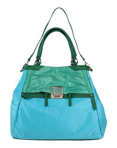 TOSCA BLU レディース ハンドバッグ ターコイズブルー 紡績繊維