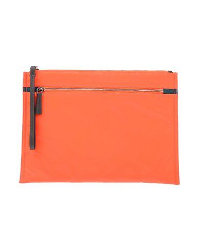 UTC00 レディース ハンドバッグ オレンジ ナイロン 100% / ポリウレタン