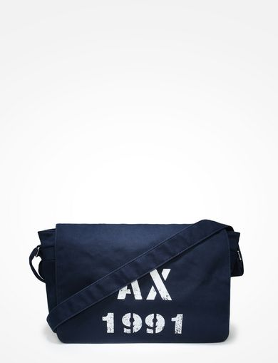 AX 1991 CANVAS MESSENGER BAG