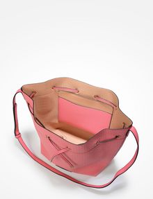 ARMANI EXCHANGE PERFORATED BUCKET BAG Satchel bag Woman e