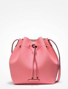 ARMANI EXCHANGE PERFORATED BUCKET BAG Satchel bag Woman f