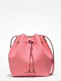 ARMANI EXCHANGE PERFORATED BUCKET BAG Satchel D f