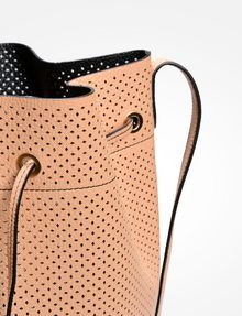 ARMANI EXCHANGE PERFORATED BUCKET BAG Bag D a