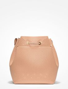 ARMANI EXCHANGE PERFORATED BUCKET BAG Bag D d