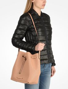ARMANI EXCHANGE PERFORATED BUCKET BAG Bag D r