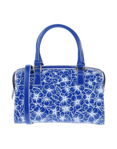 LUNA STORTA レディース ハンドバッグ ブルー 紡績繊維