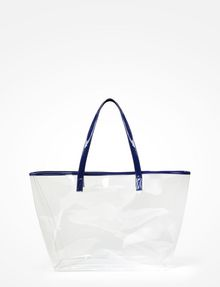 Armani Exchange Clear Plastic Tote Bag Pickupinshipping Info