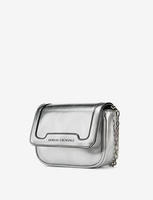 ARMANI EXCHANGE METALLIC ECO SAFFIANO CROSSBODY Bag D d