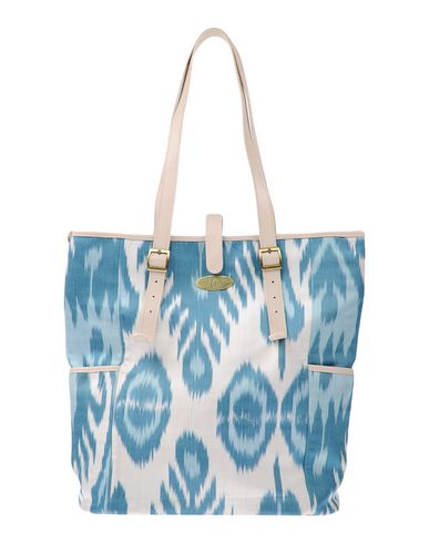 MARY SEN レディース ハンドバッグ スカイブルー 革 / 紡績繊維