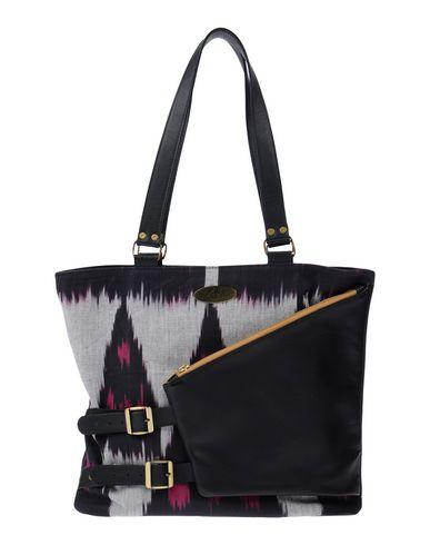 MARY SEN レディース ハンドバッグ ブラック 革 / 紡績繊維
