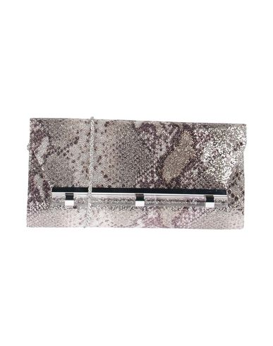 NINA レディース ハンドバッグ グレー 紡績繊維