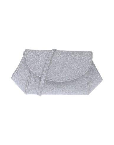 NINA レディース ハンドバッグ ライトグレー 紡績繊維