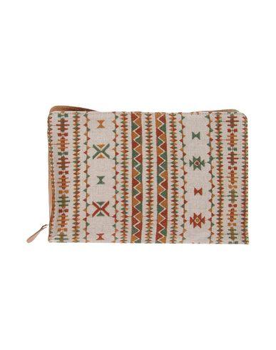 VIRREINA レディース ハンドバッグ ベージュ 紡績繊維