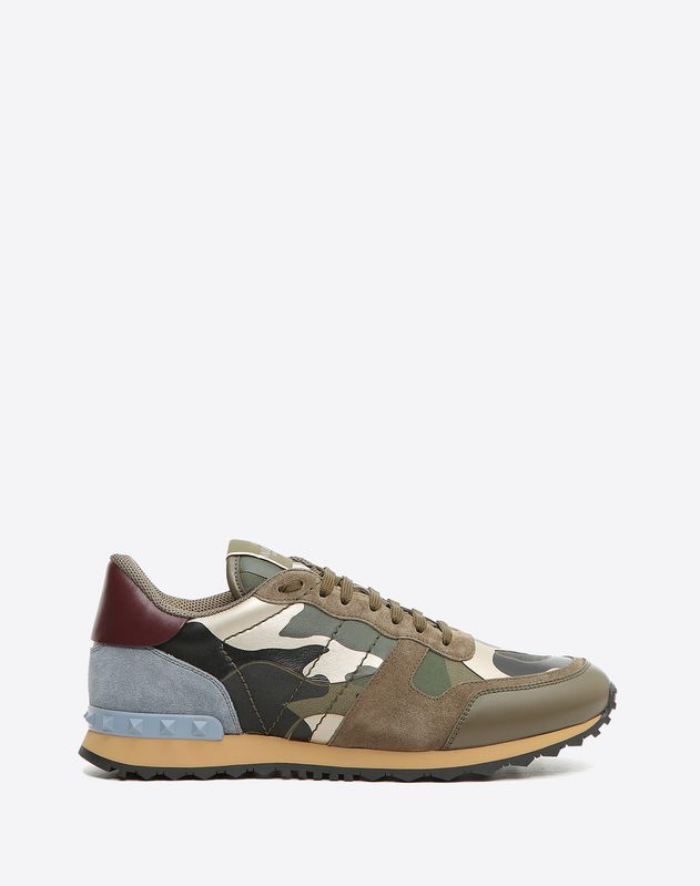 Sneakers For Us Garavani Boutique Valentino Rockrunner MenOnline Kc3TF1Jul