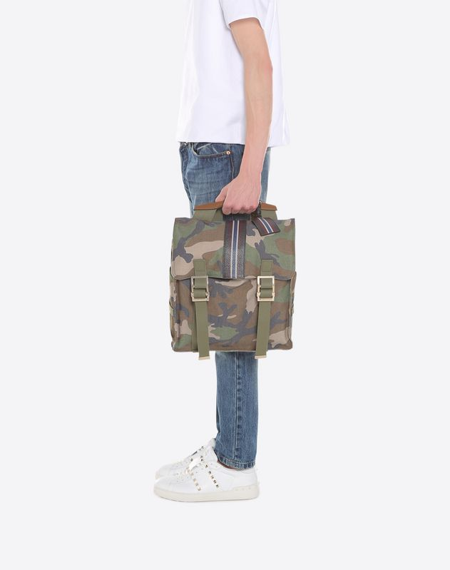 Id Camouflage Backpack