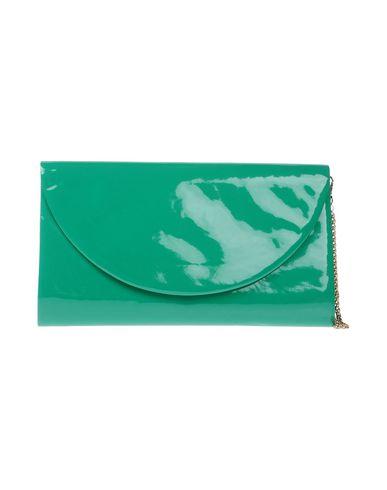 CHIARA P レディース ハンドバッグ エメラルドグリーン 紡績繊維