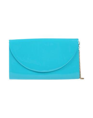 CHIARA P レディース ハンドバッグ ターコイズブルー 紡績繊維