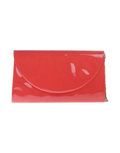 CHIARA P レディース ハンドバッグ コーラル 紡績繊維