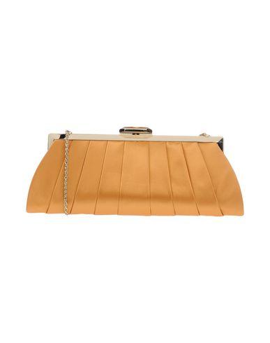 CHIARA P レディース ハンドバッグ オークル 紡績繊維