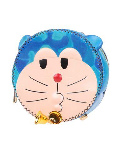 YANG DU レディース バックパック&ヒップバッグ ブルー 革