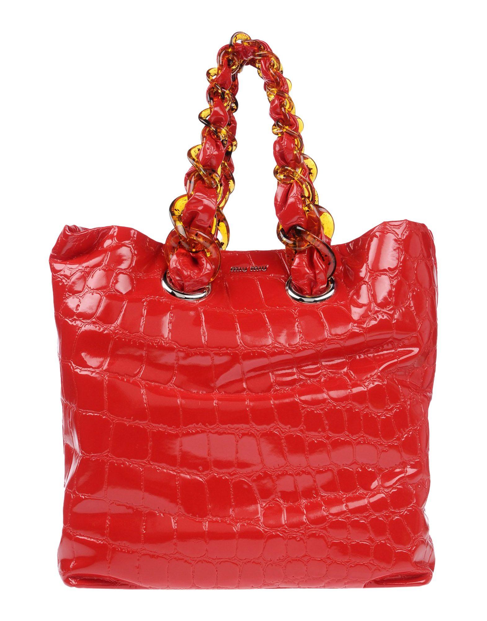 1ee6daae06b3 Miu Miu Handbag In Red