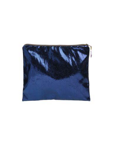 DAF DESIGN レディース ハンドバッグ ブルー 紡績繊維
