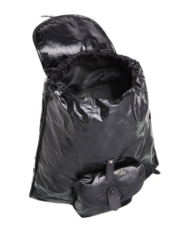 LANVIN PAPER-EFFECT BACKPACK Backpack U d
