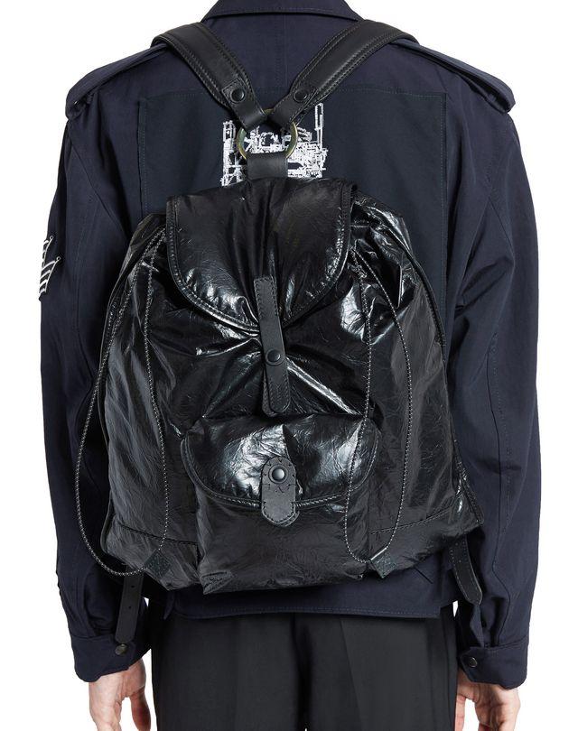LANVIN PAPER-EFFECT BACKPACK Backpack U e