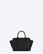 SAINT LAURENT MONOGRAMME TOTE D Small MONOGRAM SAINT LAURENT DOWNTOWN CABAS YSL Bag nera f
