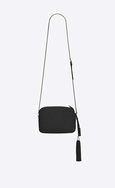 SAINT LAURENT Monogram Lou Woman lou Camera Bag in Black leather b_V4