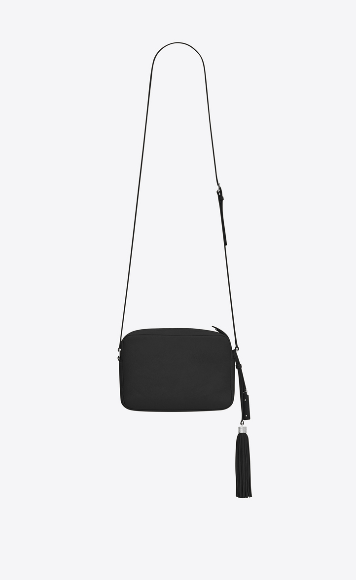 Zoom Lou Camera Bag In Smooth Leather Rear View