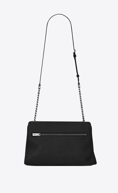 SAINT LAURENT West Hollywood D monogram west hollywood tassel bag in black leather b_V4