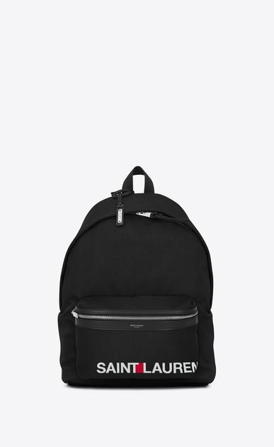 SAINT LAURENT Backpack U CITY SAINT LAURENT Print Backpack in Black v4