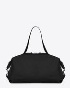 SAINT LAURENT ID bags U Large ID Convertible Bag in Black leather f