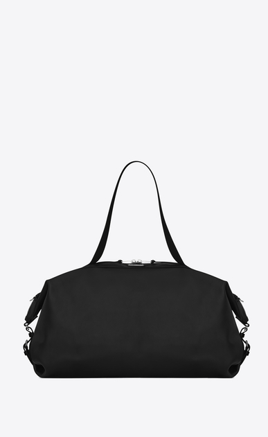 SAINT LAURENT ID bags U Large ID Convertible Bag in Black leather a_V4
