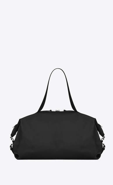 SAINT LAURENT ID bags Homme Grand sac ID convertible en cuir noir b_V4
