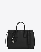 SAINT LAURENT Sac de Jour Men U Medium Supple SAC DE JOUR Bag in Black f