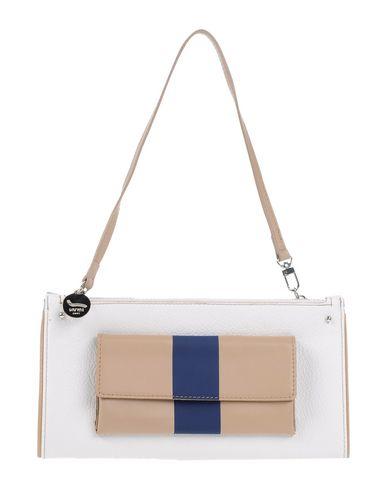 OHMAI レディース ハンドバッグ ホワイト ポリウレタン 72% / 指定外繊維 28% / 紡績繊維