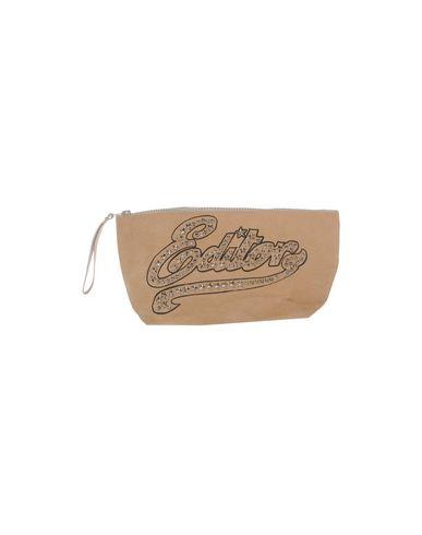 THE EDITOR レディース ハンドバッグ キャメル 紡績繊維