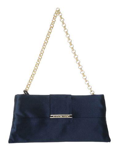 ANDREA MORELLI レディース ハンドバッグ ダークブルー 紡績繊維