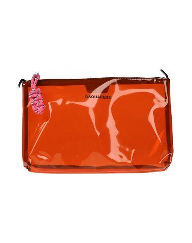 DSQUARED2 レディース ハンドバッグ オレンジ ポリ塩化ビニル