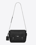SAINT LAURENT Messenger And Crossbody U ID Messenger Bag in Black f
